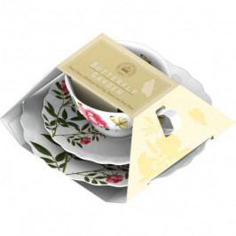 Creative Tops Šálek s podšálkem a talířem Yellow Butterfly porcelán ID5151571