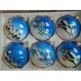 Slezská tvorba Skleněná koule | porcelánová sada | vesnice ST7103T0070700E1/00277-77168