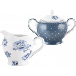 Creative Tops Porcelánová mléčenka a cukřenka Vintage Indigo ID5176113