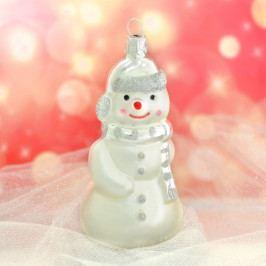 Slezská tvorba Skleněná figurka | sněhulák s balíčkem Balení obsahuje: 6 kusů