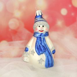 Slezská tvorba Skleněná figurka | sněhulák s lucernou Balení obsahuje: 6 kusů ST35247664000041/00402-48075