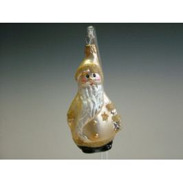 Slezská tvorba Skleněná figurka | Mikuláš s lucernou | šampaň Balení obsahuje: 6 kusů ST35247968000041/00368-65611