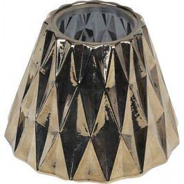 Dekorace | na svíčku | WoodWick | Průměr 13cm | výška 10cm Barva: zlatá NW863798/ZLA