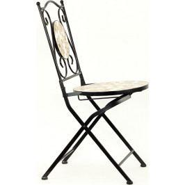Autronic Židle kovová s mozajkou - stejnou jako je u stolu JF2206 AUJF2207