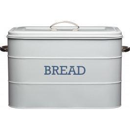 Kitchen Craft Plechová dóza Living Nostalgia na chleba šedá IDLNBBINGRY