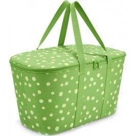 Chladicí taška Reisenthel Zelená s puntíky | coolerbag