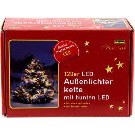 Světelný řetěz   Idena   vnitřní i venkovní   LED   barevný   20m NW047738
