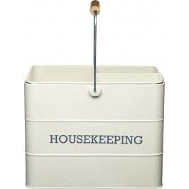 Kitchen Craft Plechový úklidový kbelík Living Nostalgia IDLNHKEEPCRE