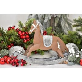 Harasim Kovový houpací kůň 26,5 cm HR115398