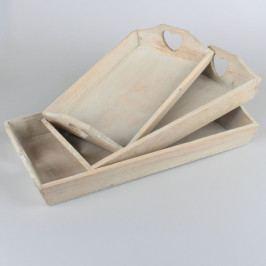 Casa de Engel Dřevěný tác | sada 3 ks DAFD50005