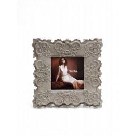 Ego Dekor Fotorámeček | světlý | zdobený | 18x18cm