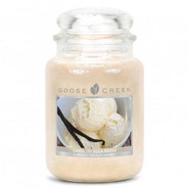 GOOSE CREEK Svíčka ve skle | Tmavá vanilková fazole | 680g