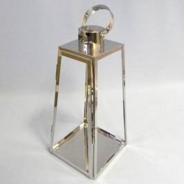 KLIA Lucerna kovová stříbrná Velikost: menší KAHIC-6610M/MEN