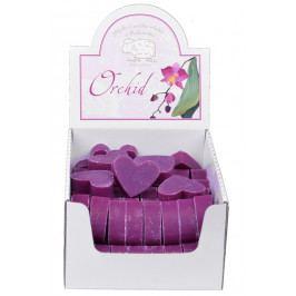 Florex Mýdlo z ovčího mléka | 61ks malé srdce | orchidej EDZFL-7222OD-K