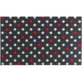 Zala Living - Hanse Home koberce Rohožka Deko | hvězdičky | červeno-bílé Rozměry koberců: 50x70cm MK202526/50X70
