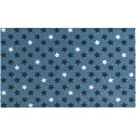 Zala Living - Hanse Home koberce Rohožka Deko | modrá | hvězdičky Rozměry koberců: 50x70cm MK202528/50X70