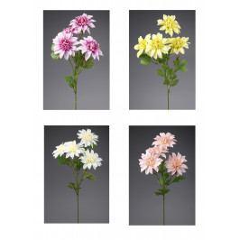KLIA Jiřina   umělá květina   4 květy   16x60cm   mix KA66586/MIX