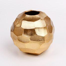 KLIA Kovová váza | koule | 2 varianty Barva: zlatá