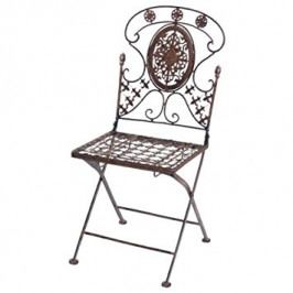 DENK GESCHENKE Židle Avis kov 90cm set 2ks DG1840