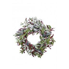 Ego Dekor Věnec | vánoční | zdobený | zasněžený | 60cm