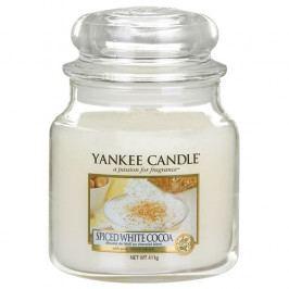 Yankee Candle svíčka Bílé kakao s kořením   410g NW1443124