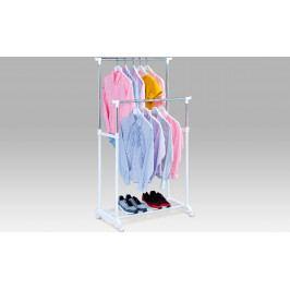 Autronic Stojan na šaty s odkladačem na boty AUABD-1222 WT