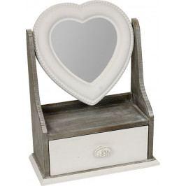 Autronic Šperkovnice se zrcadlem | dřevěná