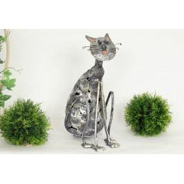 Autronic Dekorační kovová kočka AUMX160835