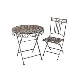 DENK GESCHENKE Židle Pablo | kov | 90x40x41cm DG19613