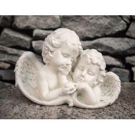 DENK GESCHENKE anděl pár poly | 16x23x13cm