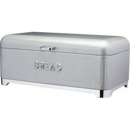 Kitchen Craft Kovová dóza na chleba Lovello šedá IDLOVBBGRY