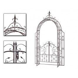 DENK GESCHENKE Opora pro růže Avis | brána | 250x145cm DG18604