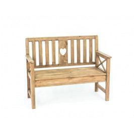 DENK GESCHENKE Lavice Bovino | zahradní | dřevo | 90x117x50 DG15305