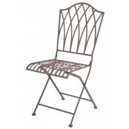 ESSCHERT DESIGN Zahradní židle | kovová | skládací EDZEE-MF006