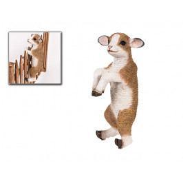 DENK GESCHENKE Koza | dekorace na oplocení | polyresin | 45x22x19cm DG37130