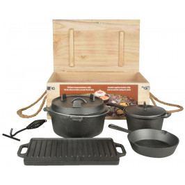 ESSCHERT DESIGN Litinové nádobí na oheň | set 7ks EDZEE-FF240