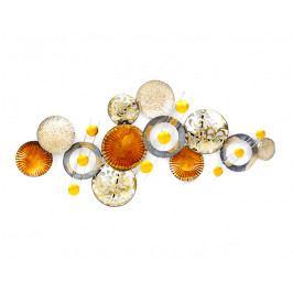 DENK GESCHENKE Nástěnná dekorace | Glamour | kov | 62x136x6cm DG23199