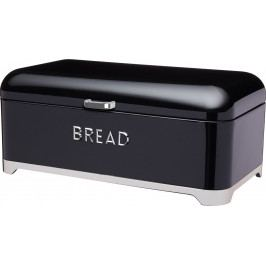 Kitchen Craft Plechová dóza na chleba Lovello černá