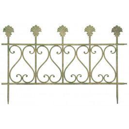 ESSCHERT DESIGN Okrasný plot   kovový   patina