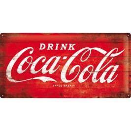 Plechová cedule Coca Cola Refresh Rozměry: 25x50cm