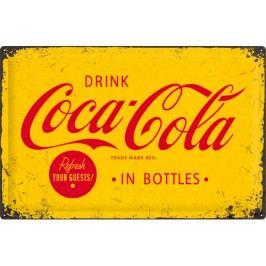 Plechová cedule Coca Cola In Bottles Rozměry: 40x60cm