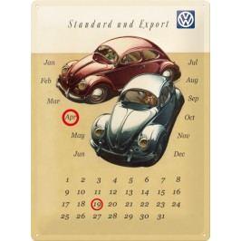 Plechová cedule Beetle kalendář 30x40cm Rozměry: 30x40cm