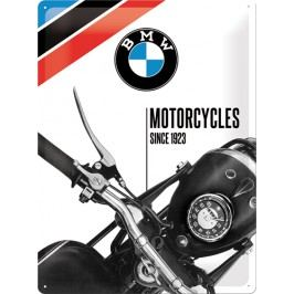 Plechová cedule BMW Motorcycles since 1923 Rozměry: 30x40cm