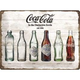 Plechová cedule Coca Cola In The Distinctive Bottle Rozměry: 30x40cm