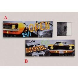 Obraz LED Motel 30x90cm Provedení: B