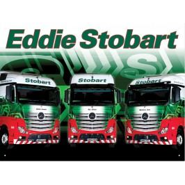 Plechová cedule Eddie Stobart I 30x40cm Rozměry: 30x40cm