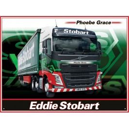 Plechová cedule Eddie Stobart III 30x40cm Rozměry: 30x40cm