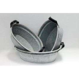 Obal kov šedý set 3ks Provedení: A