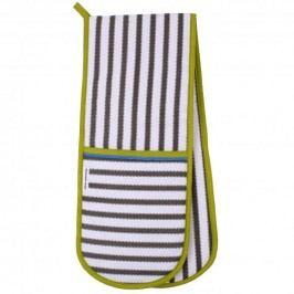 Dvojitá kuchyňská rukavice Franchini Stripe 18x88cm