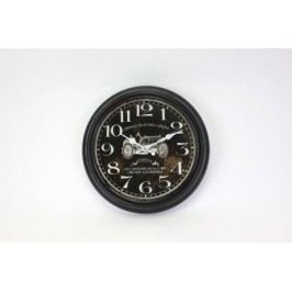 HODINY Nástěnné hodiny Vintage car 36,5cm